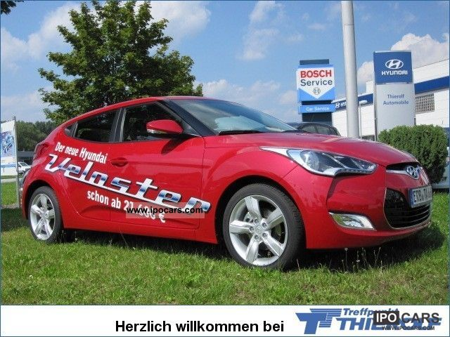 2011 Hyundai  Veloster GDI 1.6 Style Climate 3-Door PDC Sports car/Coupe Employee's Car photo