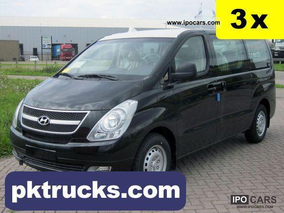 2011 Hyundai  H-1 Starex Van / Minibus New vehicle photo