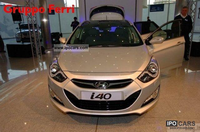 2011 Hyundai  i40 Wagon 6.1 GDI CLASSIC - P.IVA Estate Car New vehicle photo