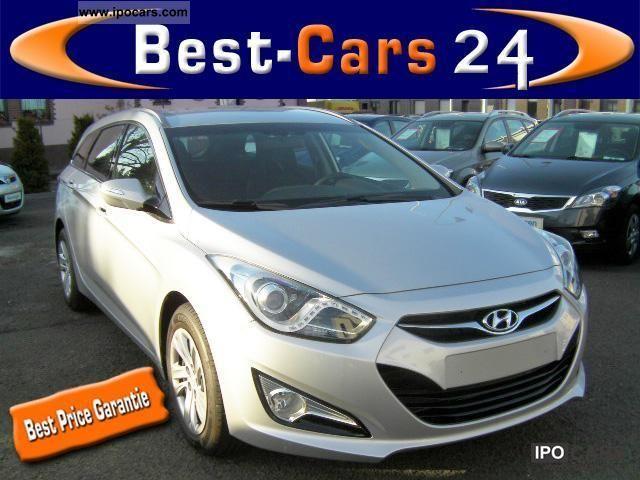 2011 Hyundai  i40 CRDi 1.7 CW Best climate-E Estate Car New vehicle photo