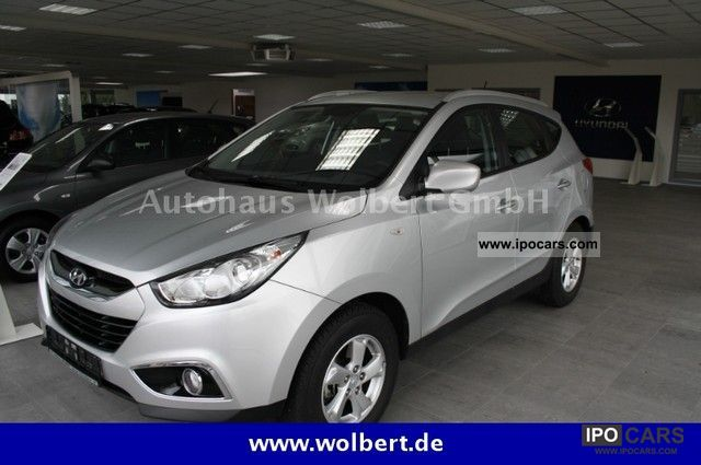 2012 Hyundai  ix35 6.1 2WD EMP Klimaaut.Privacy v.Vertrags Off-road Vehicle/Pickup Truck Used vehicle photo