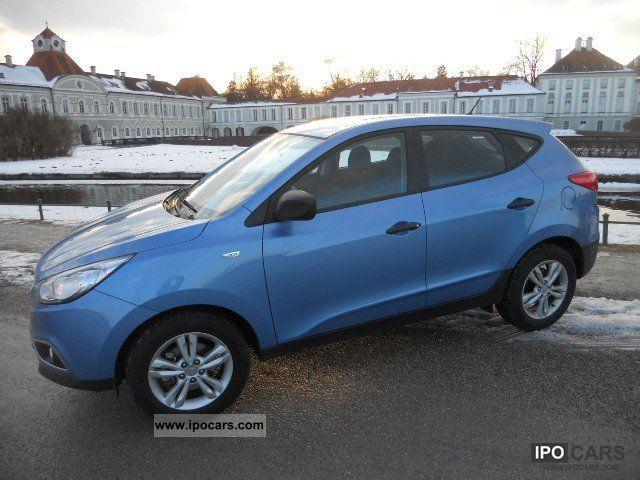 2012 Hyundai  ix35 7.1 CRDi * ICE BLUE * 3.000 km Off-road Vehicle/Pickup Truck Used vehicle photo