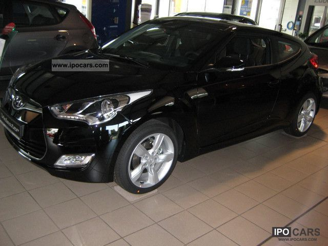 2012 Hyundai  Veloster 'Style' with T.Paket immediately available Sports car/Coupe Pre-Registration photo