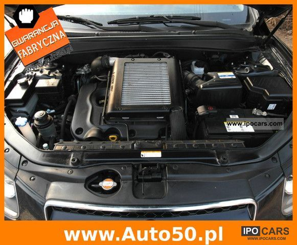 2010 Hyundai Santa Fe 2 2 Crdi Executive 7os Salon Car