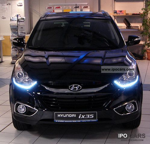 2012 Hyundai  ix35 2.0 Buesiness / daytime running lights Off-road Vehicle/Pickup Truck Pre-Registration photo