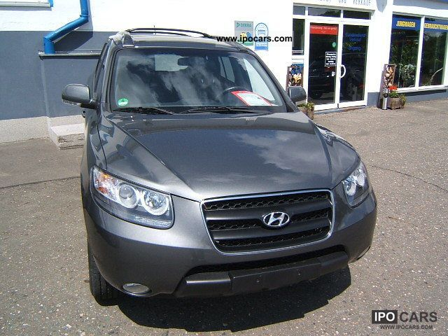 2009 hyundai santa fe 2 7 v6 2wd gls lpg comfort car. Black Bedroom Furniture Sets. Home Design Ideas