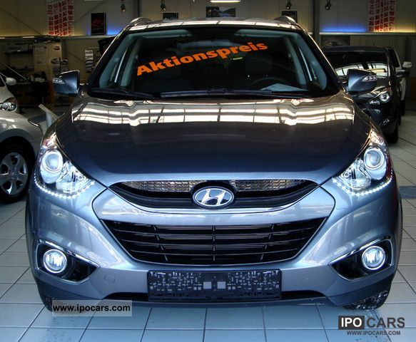 2012 Hyundai  ix35 6.1 Business / Daytime Running Lights Off-road Vehicle/Pickup Truck Pre-Registration photo