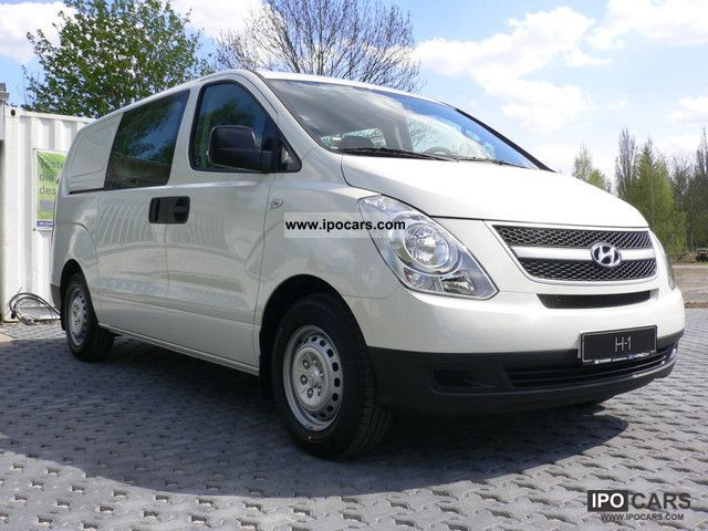 2011 Hyundai  H 1 6-seater cargo DF DPF automatic climate Van / Minibus New vehicle photo