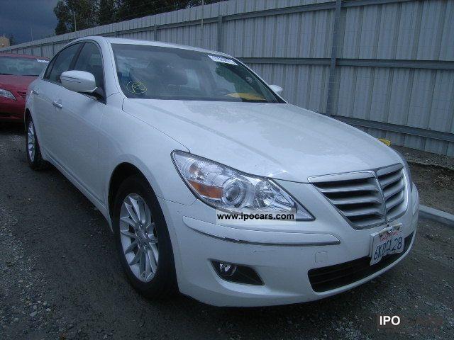 2009 Hyundai  GENESIS Limousine Used vehicle (business photo