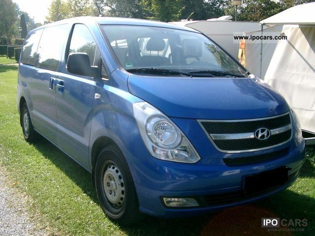 2010 Hyundai  Travel heater, 3.5 years warranty Van / Minibus Used vehicle photo