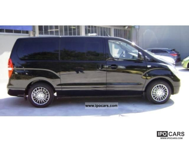 2011 hyundai h-1 travel 2.5 crdi premium travel navigation big - car