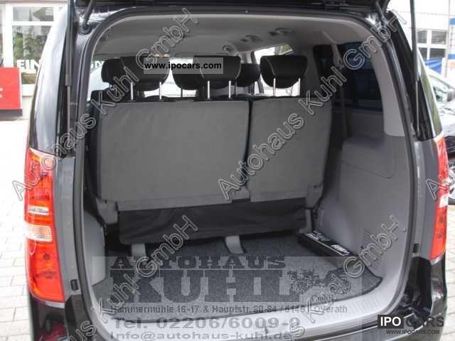 2012 hyundai h-1 travel 2.5 crdi premium 8 seater leather - car