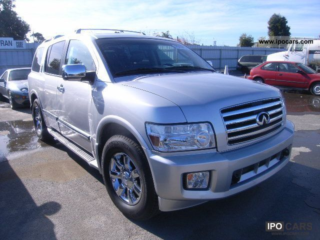 2006 infiniti qx56 car photo and specs. Black Bedroom Furniture Sets. Home Design Ideas