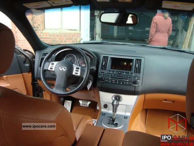 2003 infiniti xenon fx35 cognac leather shipping worldwide car photo and specs. Black Bedroom Furniture Sets. Home Design Ideas