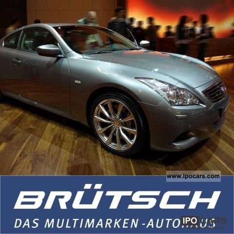 2011 Infiniti  G Coupe GT V6 37 AT 235 kW (320 hp), Auto ... Sports car/Coupe New vehicle photo