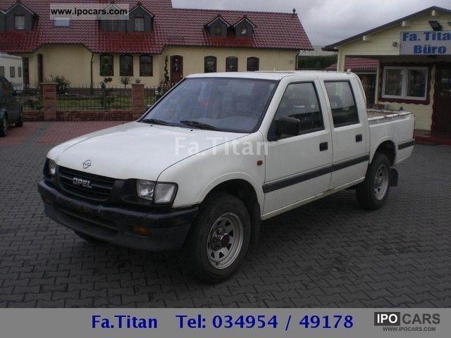 1999 Isuzu Campo Pick Up 4x4 MKlima TDS Wheel 4WD