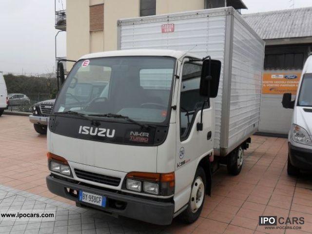 2001 Isuzu NPR 69 3 1 diesel PM Telaio Cab - Car Photo and Specs