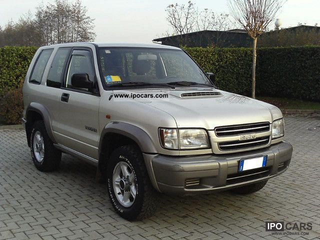 2002 Isuzu  Trooper 3.0 DTI autocarro 4 POSTI Off-road Vehicle/Pickup Truck Used vehicle photo