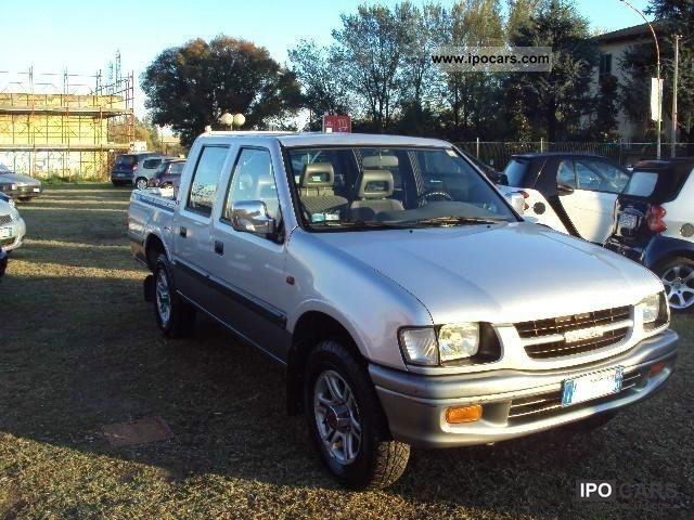 2000 isuzu pick up doppia cabina 3.1 td - car photo and specs
