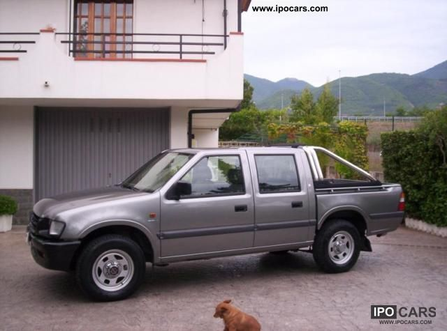 2000 Isuzu Pick Up Porte Td 4 5 Poste 4x4 Cassonato