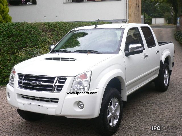 2009 Isuzu  D-Max 4x4 Double Cab Custom/Klima/12555, net- Off-road Vehicle/Pickup Truck Used vehicle photo