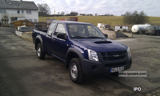 2009 Isuzu D Max 4x4 Space Cab Basic Car Photo And Specs