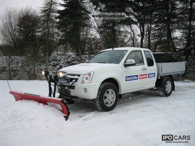 2011 Isuzu 4x4 Winter Snow Plow Spreader Trucks Car