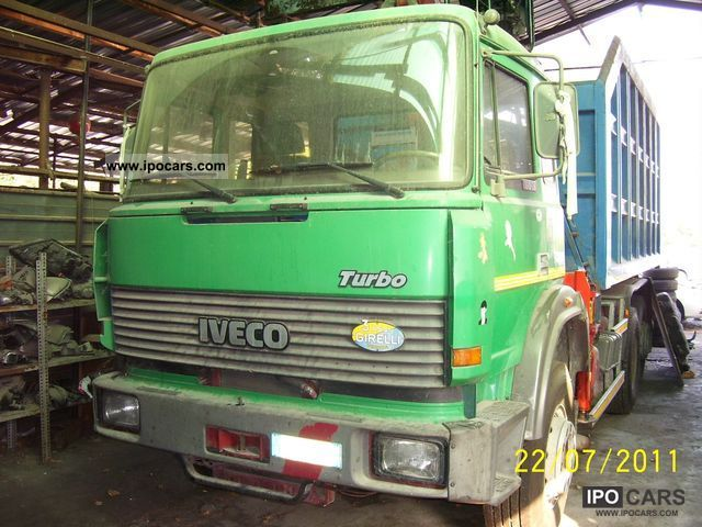 1989 iveco 190 36 attrezzatura ribaltabile e con gru other used