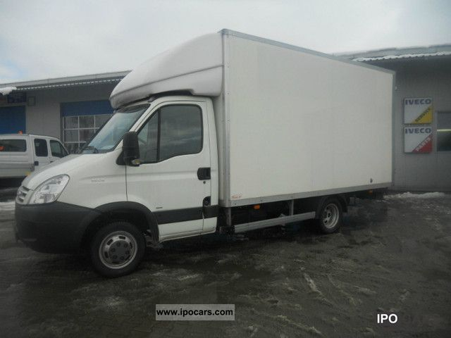 2009 iveco daily 35c15 container car photo and specs. Black Bedroom Furniture Sets. Home Design Ideas