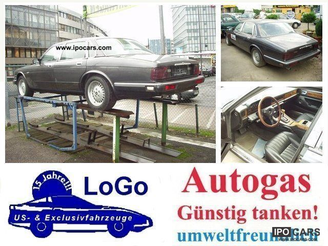 Jaguar  XJ40 LPG = LPG refuel forthe half Youngtimer 1988 Liquefied Petroleum Gas Cars (LPG, GPL, propane) photo