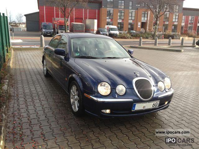 2001 jaguar s-type 3.0 v6 - car photo and specs