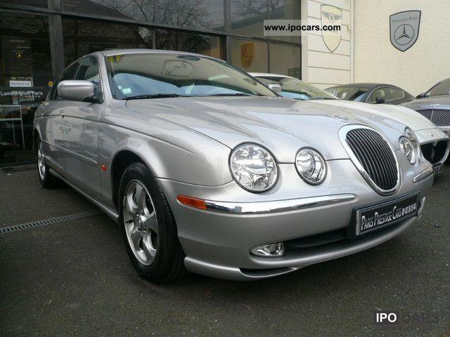 2001 jaguar s-type 3.0i v6 a - car photo and specs