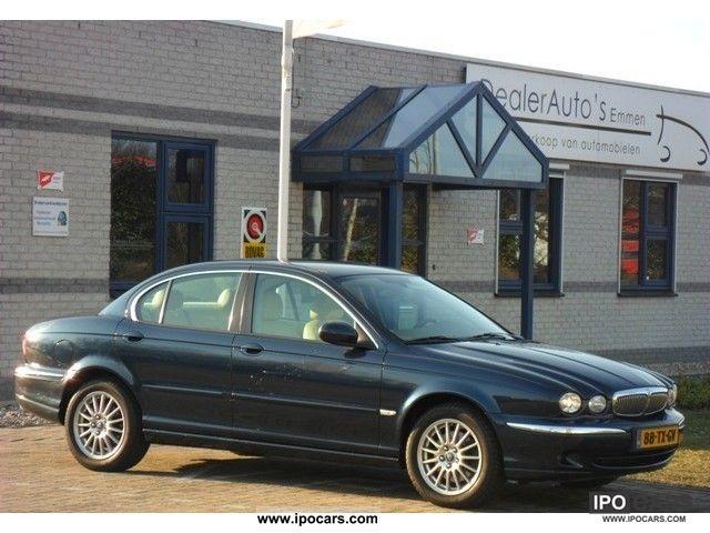 2007 Jaguar  X-Type 2.2d Executive EMPTY / ECC / LMV / CRUISE / CD / CV Limousine Used vehicle photo