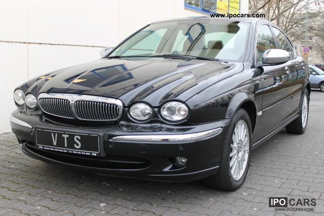 2007 Jaguar  X-Type 2.2 Diesel Executive * Navi, leather, xenon * Limousine Used vehicle photo