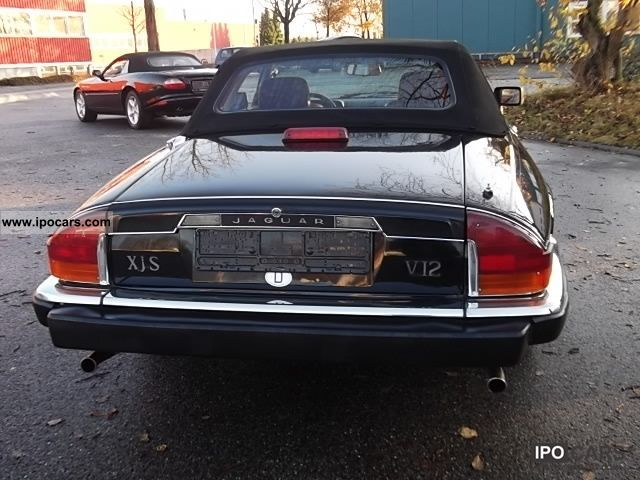 ... 1989 Jaguar XJS V12 Convertible Automatic Convertible V12 / R Cat  Cabrio / Roadster Used