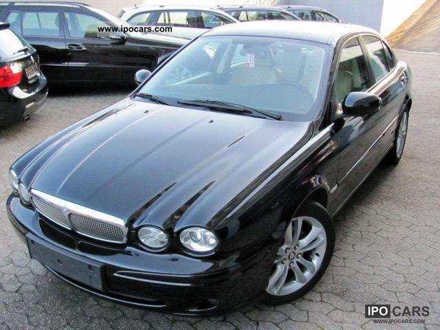 2008 Jaguar  X-Type 2.2 D/LEDER-BEIGE.NAVI-GROSS.17-ZOLL Limousine Used vehicle photo