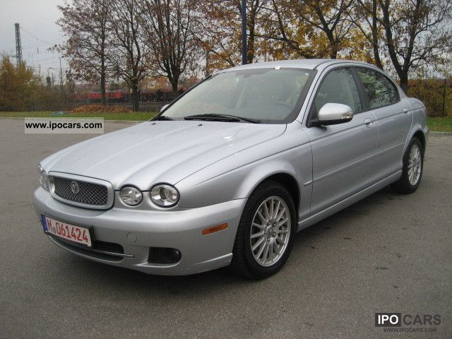 2009 Jaguar  X-Type 2.2 Diesel Executive Leather beige top navigation Limousine Used vehicle photo