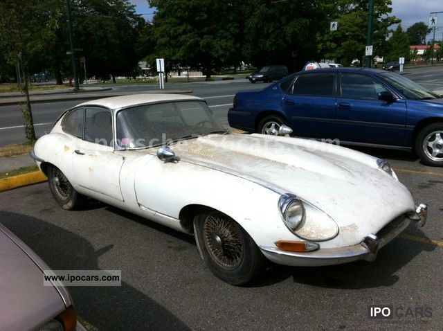 Jaguar  E-Type coupe series 2 1969 Vintage, Classic and Old Cars photo