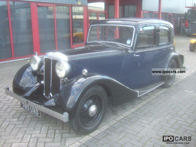 Jaguar  Daimler 15 Saloon 1937 Vintage, Classic and Old Cars photo