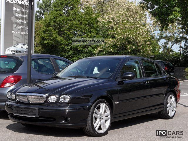 2008 Jaguar  X-TYPE 2.2 D-S Navi 18 `aluminum roof xenon Limousine Used vehicle photo