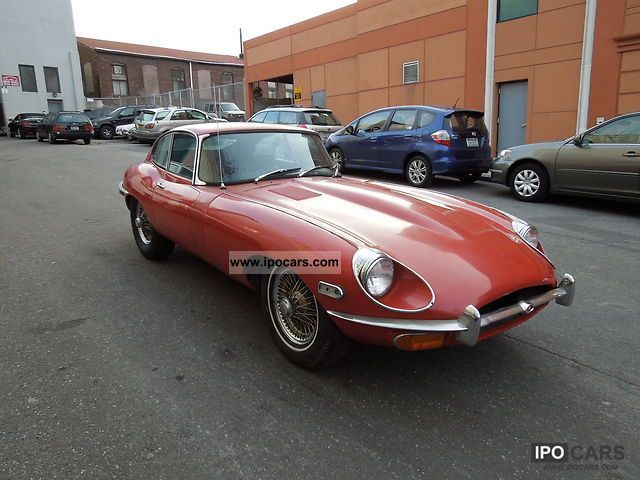 1969 Jaguar  XKE FHC Series II Matching Numbers Sports car/Coupe Used vehicle 			(business photo