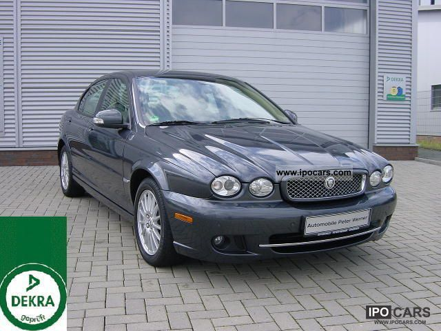 2010 Jaguar  X-Type 2.2 Diesel Automatic / leather / PDC / Sitzh. Limousine Used vehicle photo