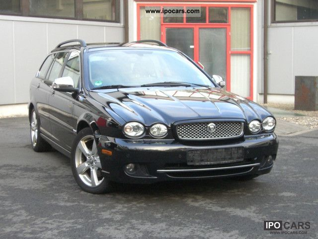 2008 Jaguar X-Type Estate 2.5 V6 AWD Aut. Executive / Navi Estate Car ...