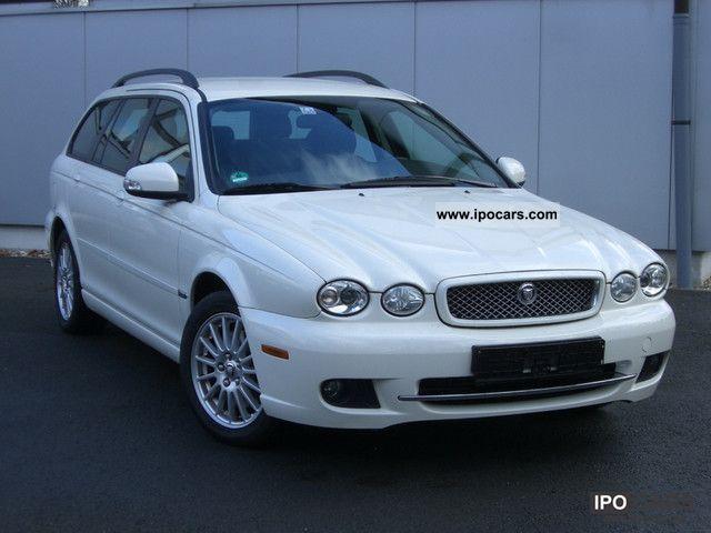 2008 Jaguar  X-Type Estate 2.2 Diesel / navigation / / * WHITE * Estate Car Used vehicle photo