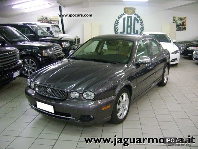 2008 Jaguar  X-Type 2.2d Premium Luxury FAP - Automatica Limousine Used vehicle photo