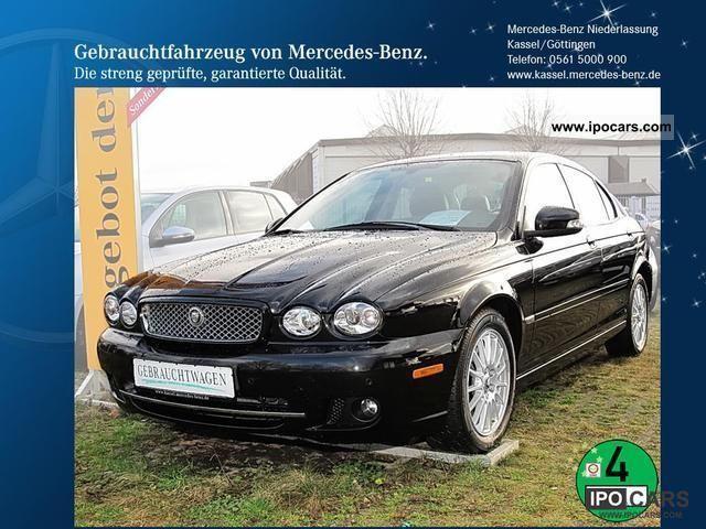 2009 Jaguar  X-Type 2.2 D Navi Leather climate Limousine Used vehicle photo