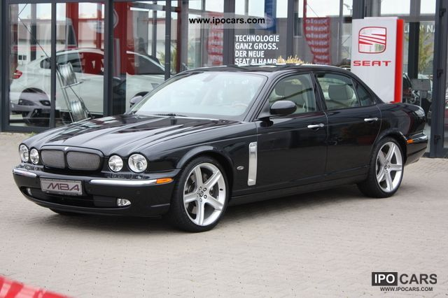 2006 Jaguar Xj Xjr Navi Xenon Pdc Beige Leather Car