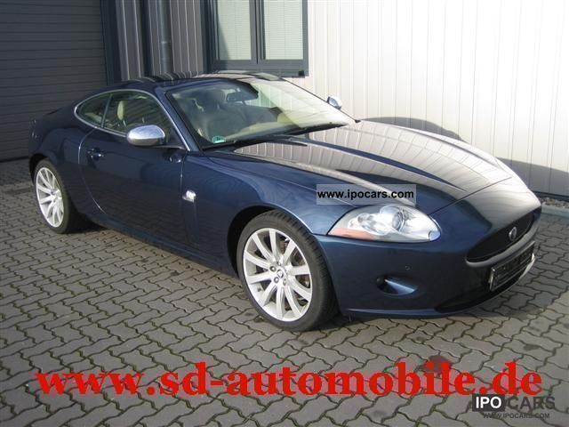 Incroyable 2006 Jaguar XK 4.2 Coupe 1.HAND + + GERMAN CAR CHECKBOOK Sports Car/Coupe