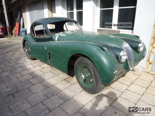 Jaguar  XK 120 fhc 1954 Vintage, Classic and Old Cars photo