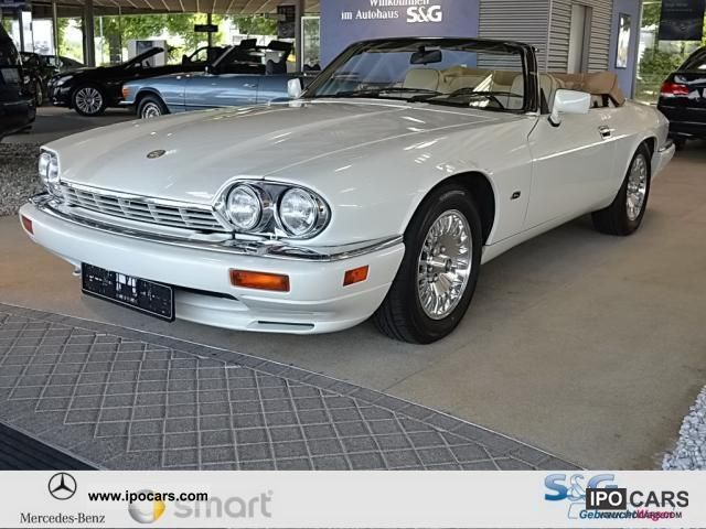 1995 Jaguar XJS Convertible 12 Cyl. Air Conditioning Aluminum 16 U0027Chrome  Cabrio / Roadster